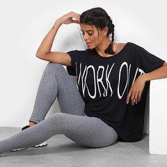 af310b2ffe Camiseta GONEW Work Out Feminina