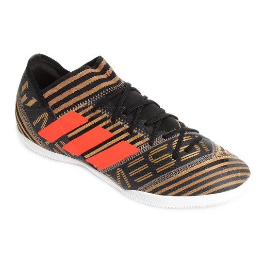 54727404d3 Chuteira Futsal Adidas Nemezis Messi 17 3 IN - Preto