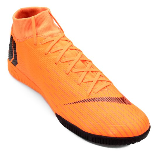 a59ce3aea3 Chuteira Futsal Nike Mercurial Superfly 6 Academy - Laranja e Preto ...