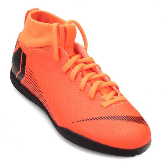 ccf31774a7 Chuteira Futsal Infantil Nike Mercurial Superfly 6 Club - Laranja+Preto