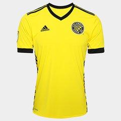 Camisa Columbus Crew MLS Home 17 18 s nº Torcedor Adidas Masculina b3a338786c954