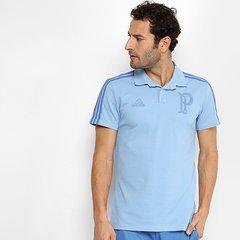 Camisa Polo Palmeiras Adidas Cotton Masculina beef579f381bf