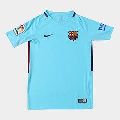 0a675d47e17ff Camisa Barcelona Juvenil Away 17/18 s/n° - Torcedor Nike