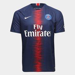 0935827b8ef87 Camisa Paris Saint-Germain Home 18 19 s n° Torcedor Nike Masculina