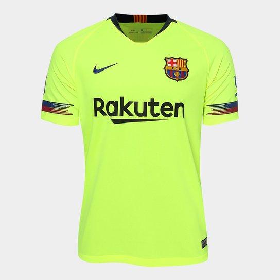 f45f3ddd11 Camisa Barcelona Away 2018 s/n° - Torcedor Nike Masculina - Verde ...