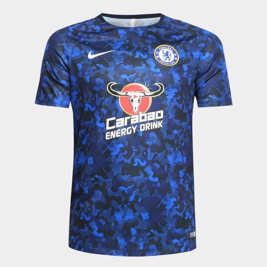 ac28110ff5c9e Camisa Chelsea Treino 19/20 Nike Masculina - Azul | Allianz Parque Shop
