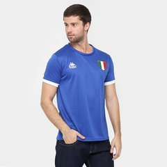 Camiseta Itália Kappa Masculina 2f77184ad13