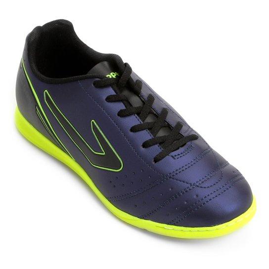 f4e018317 Chuteira Futsal Topper Drible - Marinho
