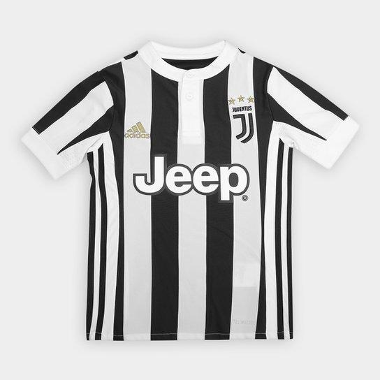 5034c4906 Camisa Juventus Infantil Home 17 18 s nº Torcedor Adidas - Compre ...