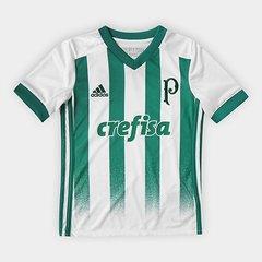 2ec40d062 Camisa Palmeiras Infantil II 17 18 Torcedor Adidas