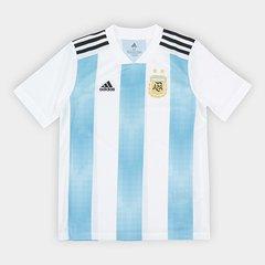 b61d120a06 Camisa Infantil Seleção Argentina Home 2018 s n° Torcedor Adidas