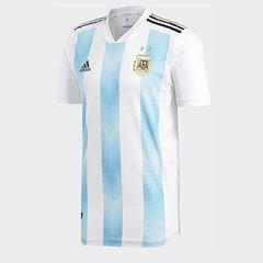 Camisa Seleção Argentina Home 2018 s n° Jogador Adidas Masculina 707161201716f