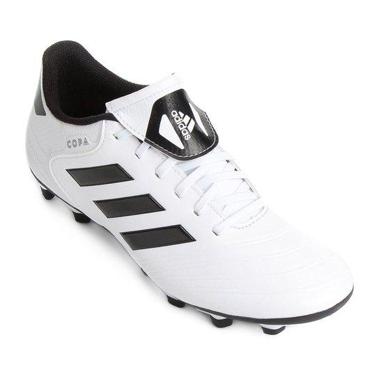 Chuteira Campo Adidas Copa 18 4 FXG - Branco - Compre Agora ... 949566ec8add7