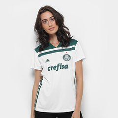 Camisa Palmeiras II 2018 s n° Torcedor Adidas Feminina 3e2d8f2595eb1