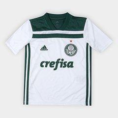 Camisa Palmeiras Infantil II 2018 s n° Torcedor Adidas 1a7362dd82dd2