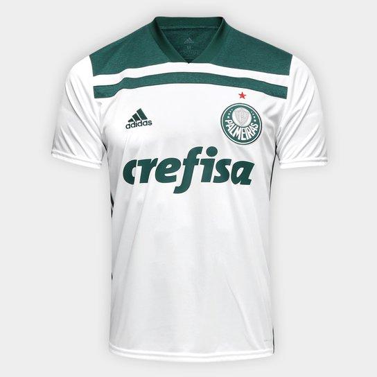 c462c0839ed Camisa Palmeiras II 2018 s n° Torcedor Adidas Masculina - Branco e ...