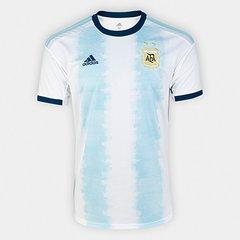1bcc39f9ac Camisa Seleção Argentina Home 19/20 s/n° Torcedor Adidas Masculina