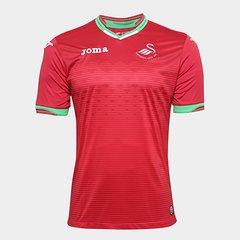 ea87396718 Camisa Swansea City Away 17 18 s n°- Torcedor Joma Masculina