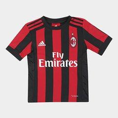 83827d363 Camisa Milan Infantil Home 17 18 s nº - Torcedor Adidas