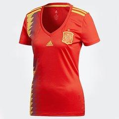 88ff5d88700d1 Camisa Seleção Espanha Home 2018 s n° Torcedor Adidas Feminina