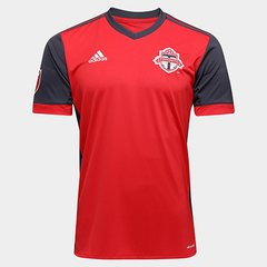 f44eb53c8 Camisa Toronto MLS Home 17 18 s nº Torcedor Adidas Masculina