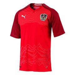 Camisa Seleção Áustria Home 2018 s nº - Torcedor Puma Masculina 0551ef58e1950