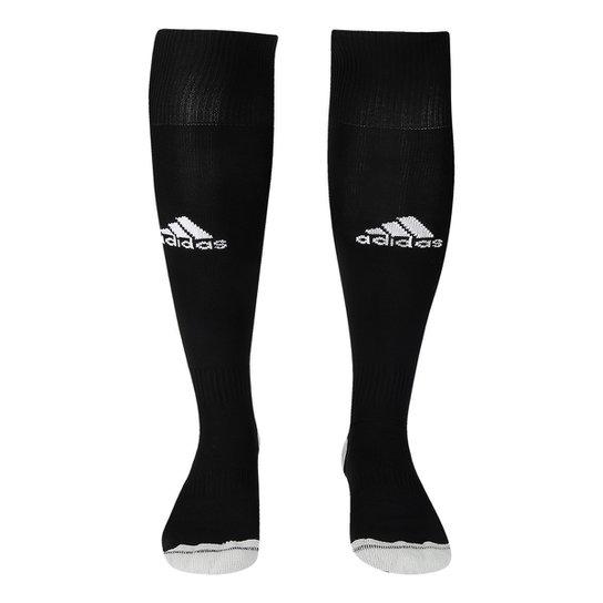 Meião Adidas Milano 16 - Preto e Branco - Compre Agora  4be8bedf9fb3e