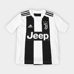 9219cf5c31 Camisa Juventus Infantil Home 2018 s n° - Torcedor Adidas