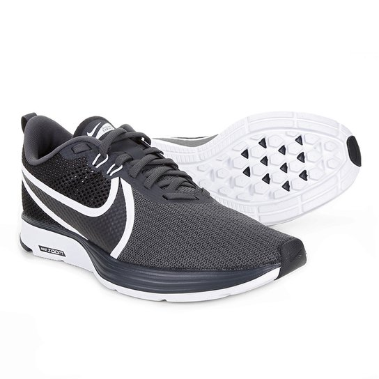 6b32ffaf588 Tênis Nike Zoom Strike 2 Masculino - Preto e Branco - Compre Agora ...