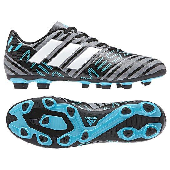 Chuteira Campo Adidas Nemezis Messi 17 4 FXG - Compre Agora ... ebe24a2f93166
