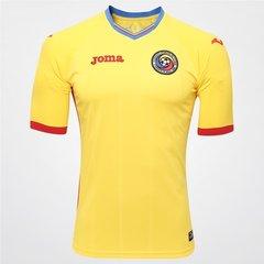 Camisa Romênia Home 15 16 s nº Torcedor Joma Masculina 9b3cbea519ad8