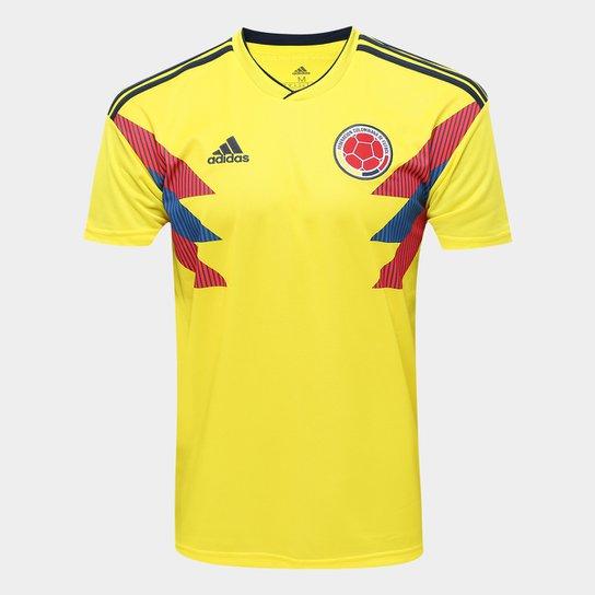 e3226835c0d56 Camisa Seleção Colômbia Home 2018 s n° Torcedor Adidas Masculina - Amarelo