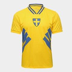 82c58dc589 Camisa Suécia 1994 Retrô Times Masculina