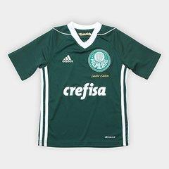 01e5b00aa7 Camisa Palmeiras Infantil Obsessão Edição Limitada Adidas