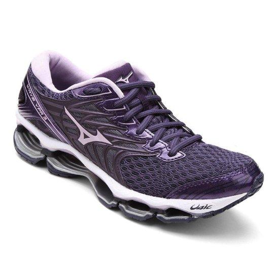 25a3f5c6035956 Tênis Mizuno Wave Viper 3 Feminino - Roxo e Lilás | Allianz Parque Shop