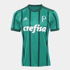099a1fc01282d Camisa Palmeiras I 17 18 s nº Torcedor Adidas Masculina