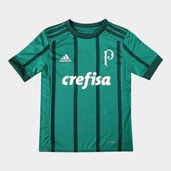 21ed388fd Camisa Palmeiras Infantil I 17 18 s nº Torcedor Adidas