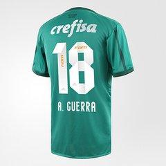 ca443927ed10e Camisa Palmeiras SP I 17 18 N° 18 - A. Guerra Adidas Masculina