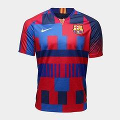 7d0f1d8a76962 Camisa Barcelona 20 Anos Edição Limitada - Torcedor Nike Masculina