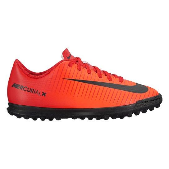 Chuteira Society Infantil Nike Mercurial Vortex 3 TF - Compre Agora ... 21386c0306d08