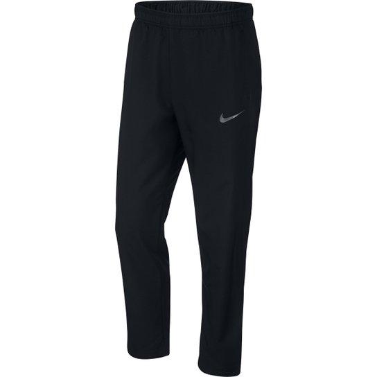 d5d13883eda Calça Nike Dry Team Woven Masculina - Preto e Cinza - Compre Agora ...