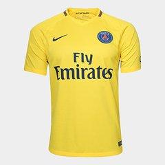 Camisa Paris Saint-Germain Away 17 18 s n° - Torcedor Nike 07b9084d33ef4