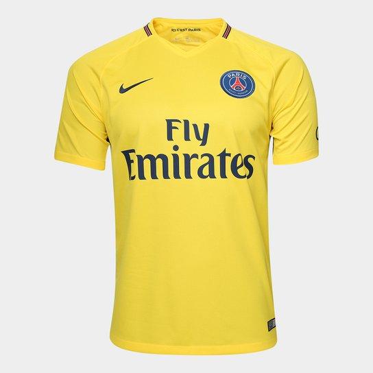 Camisa Paris Saint-Germain Away 17 18 s n° - Torcedor Nike Masculina ... 0cf60fde2404b