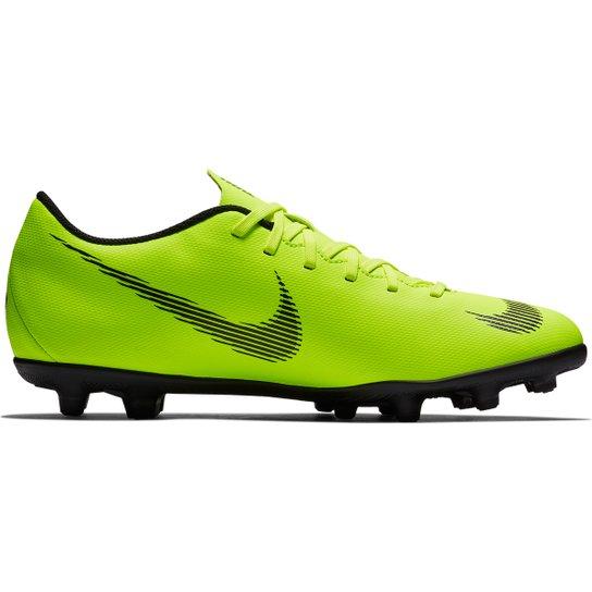 851c0a68f5 Chuteira Campo Nike Mercurial Vapor 12 Club - Verde e Preto ...