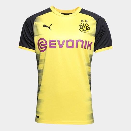 8753341b053018 Camisa Borussia Dortmund Third s/n° 17/18 - Torcedor Puma Masculina ...