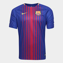 06eb520c50 Camisa Barcelona Home 17 18 s nº Torcedor Nike Masculina