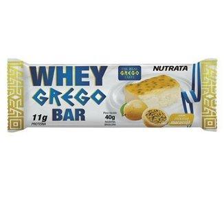 Barra Whey Grego Bar Nutrata - 1 Unid de 40g