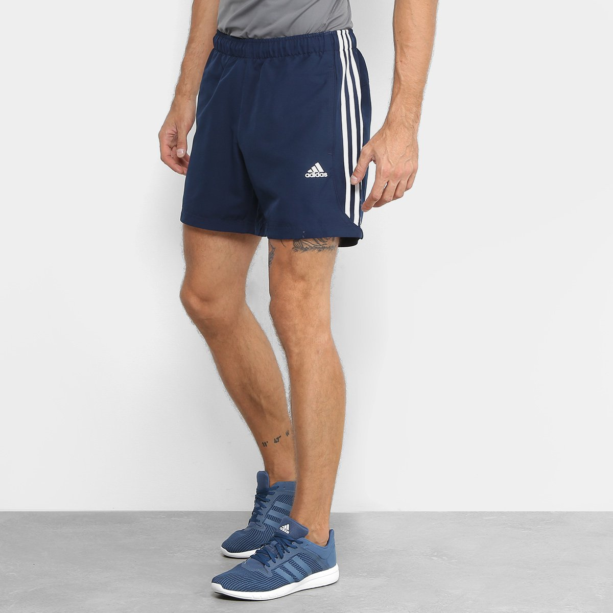 224cd4940 Bermuda Adidas Ess 3S Chelsea Masculina | Allianz Parque Shop