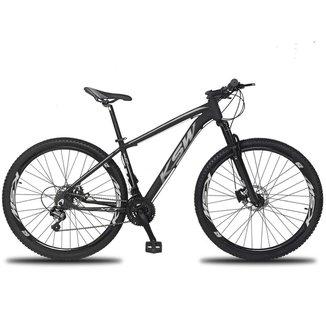 Bicicleta 27 Marchas KSW XLT Aro 29  Câmbio Altus Freio Hidráulico MTB