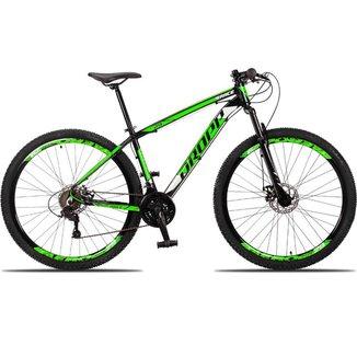 Bicicleta 29 Dropp Race 21 Marchas Quadro Alumínio e Suspensão Dianteira e Freio Disco